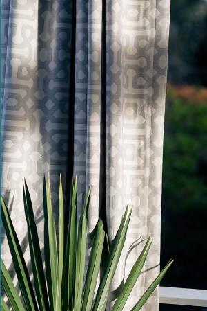 sunbrella furniture fretwork pewter curtain resize